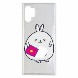 Чохол для Samsung Note 10 Plus Rabbit with a letter