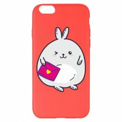 Чохол для iPhone 6 Plus/6S Plus Rabbit with a letter