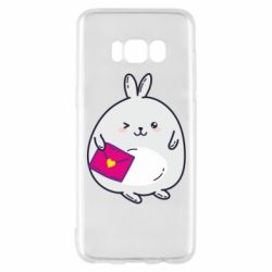 Чохол для Samsung S8 Rabbit with a letter