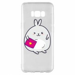 Чохол для Samsung S8+ Rabbit with a letter