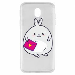 Чохол для Samsung J7 2017 Rabbit with a letter