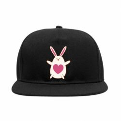 Снепбек Rabbit with a pink heart