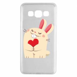 Чехол для Samsung A3 2015 Rabbit with heart