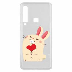Чехол для Samsung A9 2018 Rabbit with heart