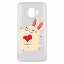 Чехол для Samsung J2 Core Rabbit with heart