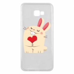 Чехол для Samsung J4 Plus 2018 Rabbit with heart