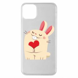 Чехол для iPhone 11 Pro Max Rabbit with heart