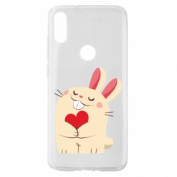 Чехол для Xiaomi Mi Play Rabbit with heart