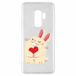 Чехол для Samsung S9+ Rabbit with heart
