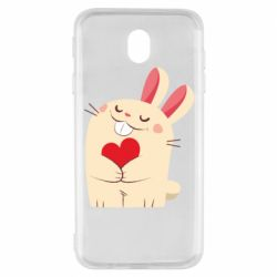 Чехол для Samsung J7 2017 Rabbit with heart