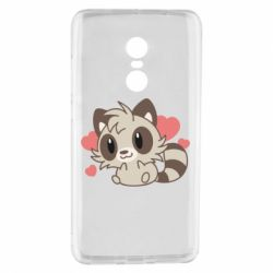 Чехол для Xiaomi Redmi Note 4 Raccoon chibi
