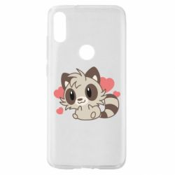 Чехол для Xiaomi Mi Play Raccoon chibi
