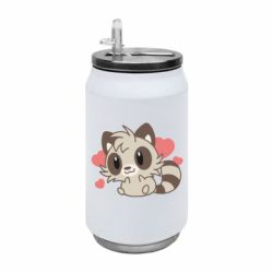 Термобанка 350ml Raccoon chibi