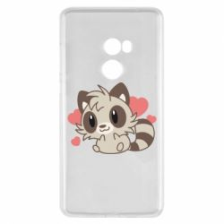 Чехол для Xiaomi Mi Mix 2 Raccoon chibi