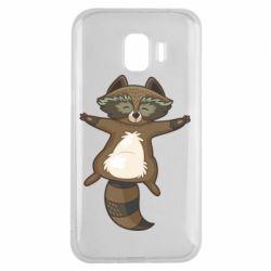 Чохол для Samsung J2 2018 Raccoon
