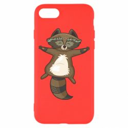 Чехол для iPhone 8 Raccoon