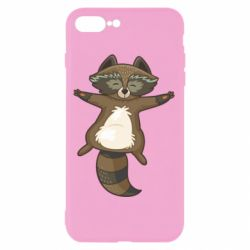 Чехол для iPhone 8 Plus Raccoon