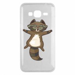 Чохол для Samsung J3 2016 Raccoon