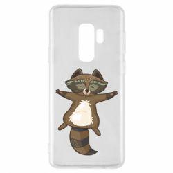 Чохол для Samsung S9+ Raccoon