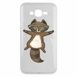 Чохол для Samsung J7 2015 Raccoon