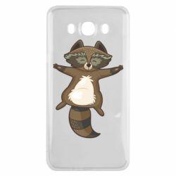 Чохол для Samsung J7 2016 Raccoon