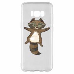 Чохол для Samsung S8+ Raccoon