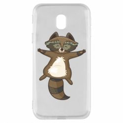 Чохол для Samsung J3 2017 Raccoon
