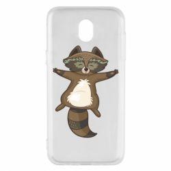Чохол для Samsung J5 2017 Raccoon