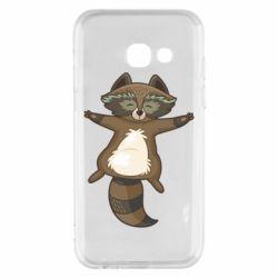 Чохол для Samsung A3 2017 Raccoon
