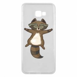 Чехол для Samsung J4 Plus 2018 Raccoon