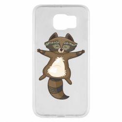 Чохол для Samsung S6 Raccoon
