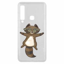 Чохол для Samsung A9 2018 Raccoon