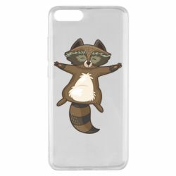 Чехол для Xiaomi Mi Note 3 Raccoon