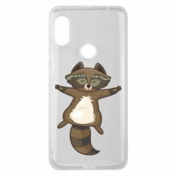Чохол для Xiaomi Redmi Note Pro 6 Raccoon