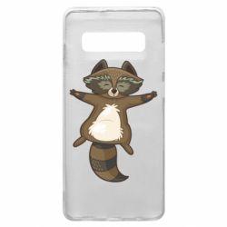 Чохол для Samsung S10+ Raccoon