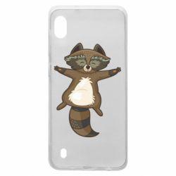 Чохол для Samsung A10 Raccoon