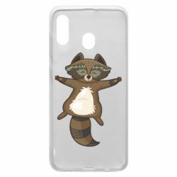 Чохол для Samsung A20 Raccoon