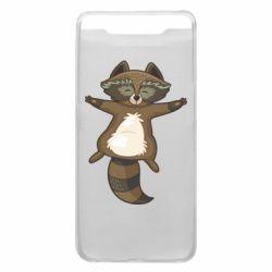 Чохол для Samsung A80 Raccoon