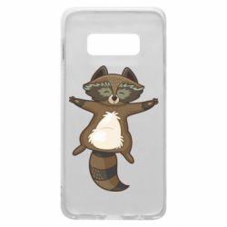 Чохол для Samsung S10e Raccoon