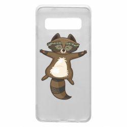 Чохол для Samsung S10 Raccoon