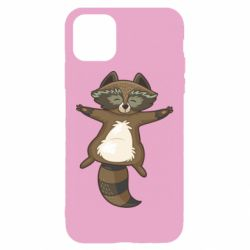Чехол для iPhone 11 Raccoon