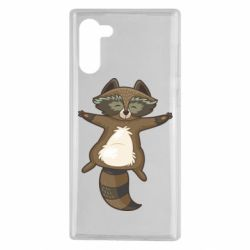 Чехол для Samsung Note 10 Raccoon