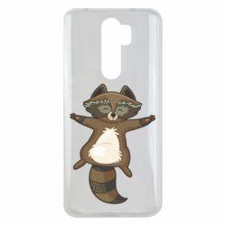 Чохол для Xiaomi Redmi Note 8 Pro Raccoon