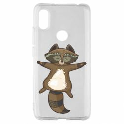 Чехол для Xiaomi Redmi S2 Raccoon