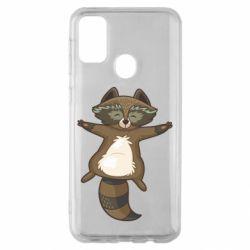 Чохол для Samsung M30s Raccoon
