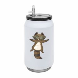 Термобанка 350ml Raccoon