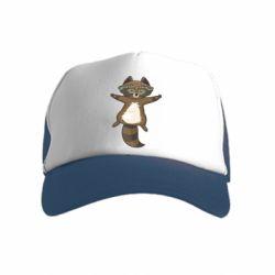 Дитяча кепка-тракер Raccoon