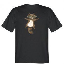 Чоловіча футболка Raccoon