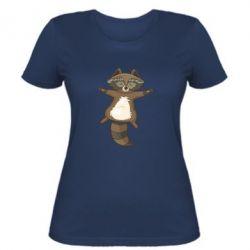 Жіноча футболка Raccoon