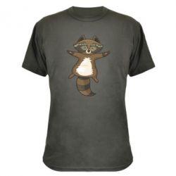 Камуфляжна футболка Raccoon